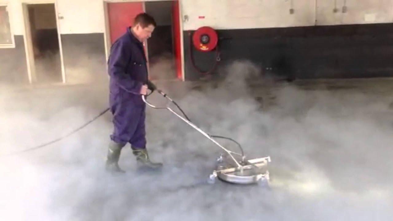 Reinigen garagevloeren met hogedruk indoor youtube