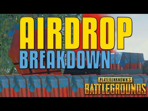 100 Airdrops - Airdrop Breakdown | PUBG