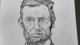 Gambar cover Drawing of Abraham Lincoln (took 58 minutes)