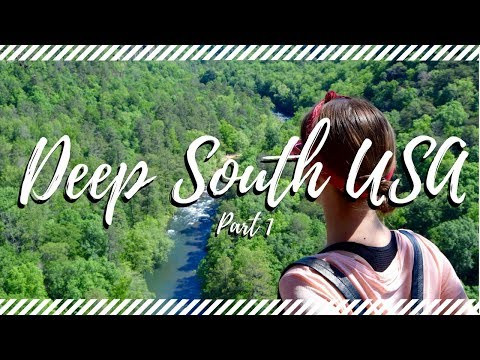 #iTrekHere: Deep South USA with Trek America! (Part 1: Alabama & Tennessee)