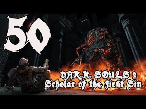 Dark Souls 2 Scholar of the First Sin - Walkthrough Part 50: Blue Smelter Demon