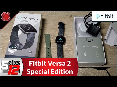 Fitbit Versa 2 Special Edition | Unboxed, set up, and bought a Samsung