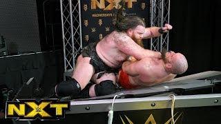 Johnny Gargano vs. Aleister Black vs. Killian Dain vs. Lars Sullivan: WWE NXT, Dec. 27, 2017