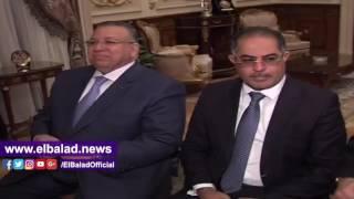 علي عبد العال يستقبل رئيس مجلس الأمة الكويتي .. فيديو