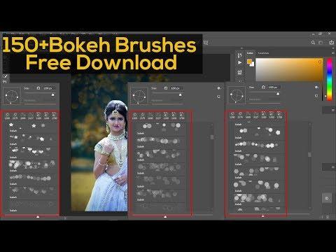 150+ free bokeh brushes photoshop | photoshop bokeh brush tutorial thumbnail