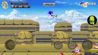 Sonic the hedgehog 4 Episode 2 (ANDROID VERSION) Part 4