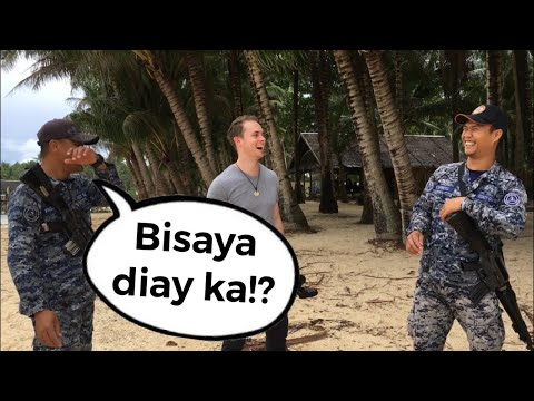 ENGLISH ONLY PRANK In SIARGAO!