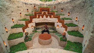 Dig To Build My Own Secret Ancient Underground House | How To Build To Underground Hidden House