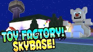 TOY FACTORY and SKY BASE! - Voxel Turf Multiplayer Gameplay - Steam Workshop User Creations