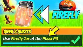 Firefly Jar Locations IN Pizza Pit & Use Firefly Jar at the Pizza Pit - Fortnite