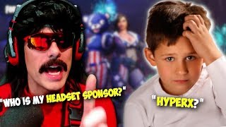 DrDisRespect Asks 10 Year Old Kids Questions About Himself ▪ Fortnite Gameplay ▪ Happy New Years!