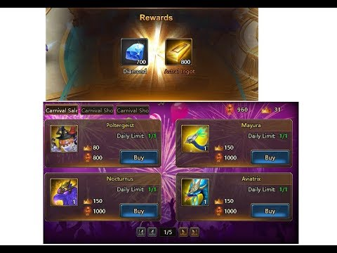League of Angels 2 Mayura and Aviatrix Mount in Carnival Shop + 2 Free Gift  Codes