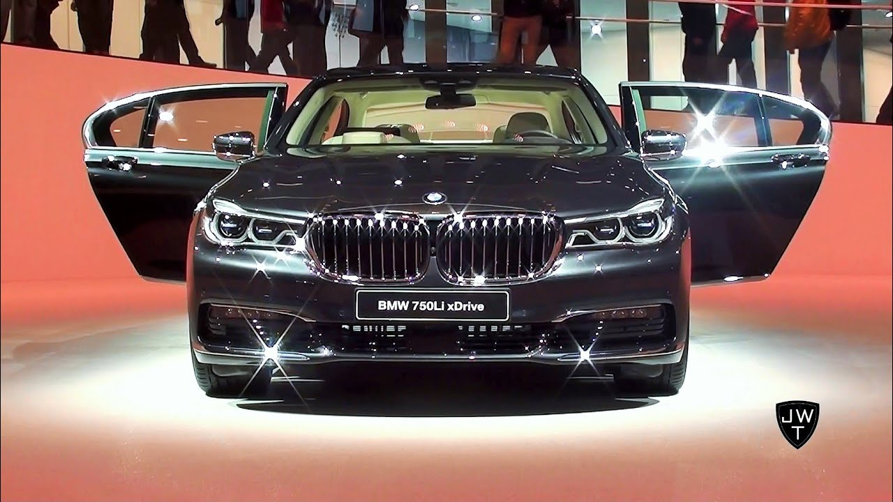Official Debut Of The All New 2016 BMW 750Li X Drive Looks Driving Scenes