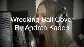 Wrecking ball by miley cyrus cover ...