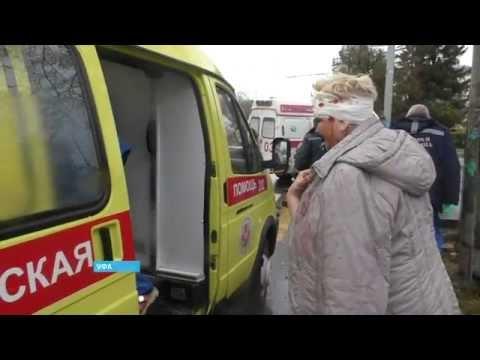 Крупное ДТП с участием маршрутной «Газели» произошло в Уфе