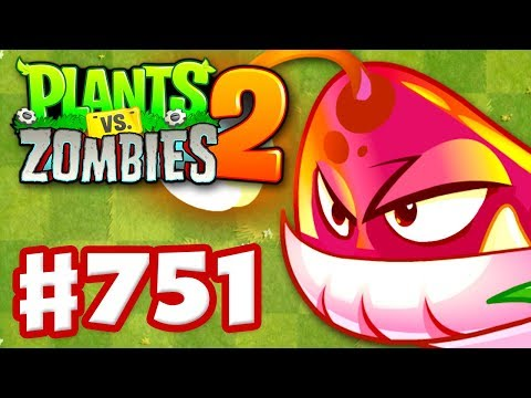 PYRE VINE! New Plant! - Plants vs. Zombies 2 - Gameplay Walkthrough Part 751