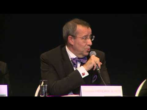 Privacy Platform 02: President Ilves of the Republic of Estonia, chair European Cloud Partnership