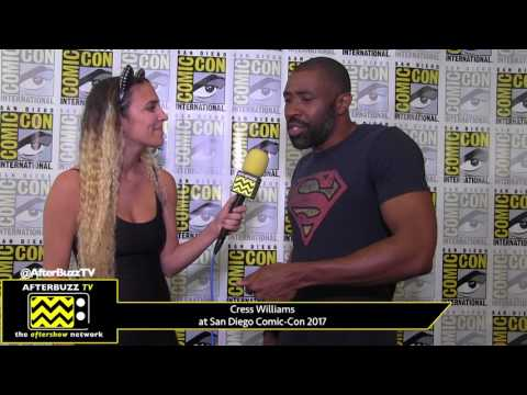 Cress Williams Black Lightning at San Diego ComicCon 2017