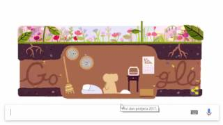 Google Doodle - First Day Of Spring 2017