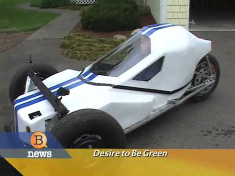 Teenager Builds Electric Car A Mile To Operate Youtube