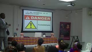« Les dégâts des lissages brésiliens 2ème partie » thème des séminaires (Vivre mieux ses cheveux).