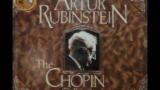 Arthur Rubinstein - Chopin Prelude, No. 24, Op. 28 in D minor