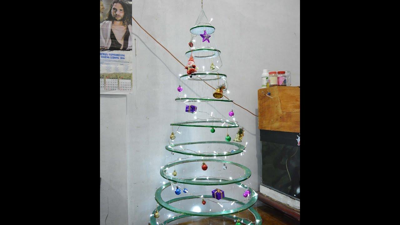 Pohon Natal sederhana bikin sendiri - YouTube