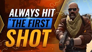 The ULTIMATE AIMING GUIDE: How To Win EVERY DUEL & Hit The First Shot - CS:GO