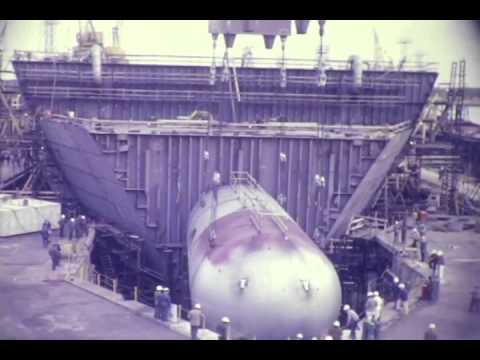 F 1599 General Dynamics Quincy Ship Building Footage