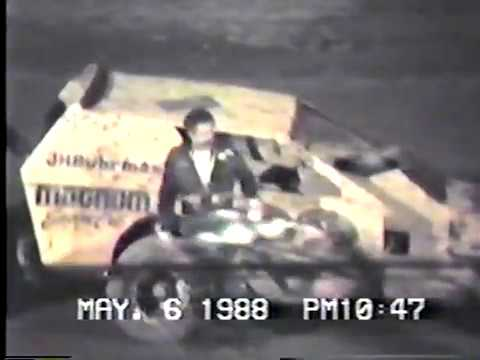 Albany-Saratoga Speedway - May 6, 1988 - Video 1 of 2