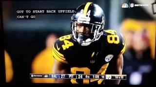 Pittsburg Steelers vs Baltimore Ravens End of Game Nfl Week 16 2016