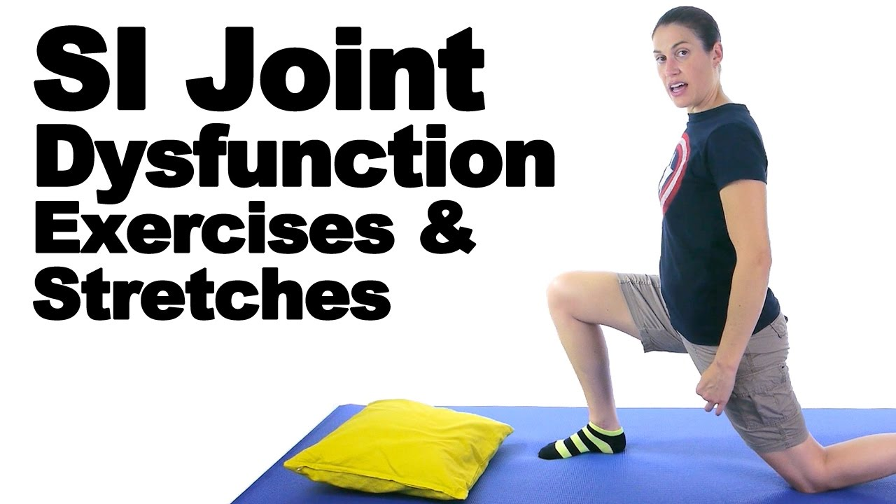 Chair Exercises On Cable Tv Black Leather Dining Chairs Si Joint Dysfunction & Stretches - Ask Doctor Jo Youtube