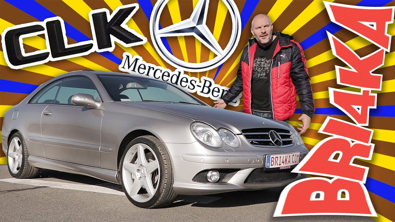 Mercedes CLK | C209/A209 2GEN| Test and Review | Bri4ka.com