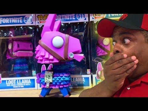 LARGEST Fortnite Loot Llama Funko Pop EVER!