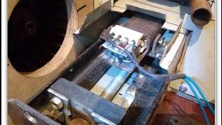 Самодельная пеллетная горелка . Детальный обзор. Homemade pellet burner.