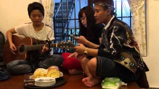 Yêu (min)                        Cover by: Blue Band         At: Nostress cafe