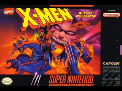 X-Men Mutant Apocalypse SNES - SOUNDTRACK
