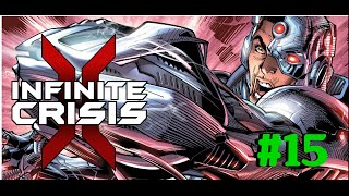 Infinite Crisis - Cyborg Gameplay en español [Gotham Divided]