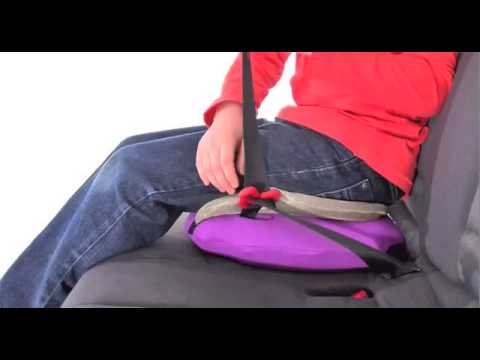 BubbleBum Inflatable Booster Car Seat - YouTube