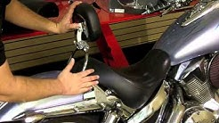 TOTW Motorcycle Driver Backrest