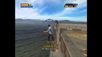 Tony Hawk's Pro Skater 4: Alcatraz cash icons [HD]