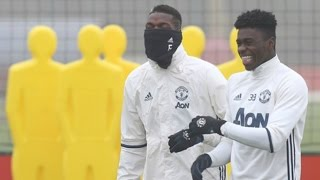 Manchester United Players Training Ahead of EFL Cup Match vs Hull City!   MUFC Religion