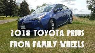2018 Toyota Prius review from Family Wheels