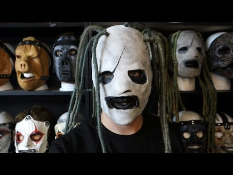 SLIPKNOT COREY TAYLOR IOWA MASK UNBOXING AND REVIEW!