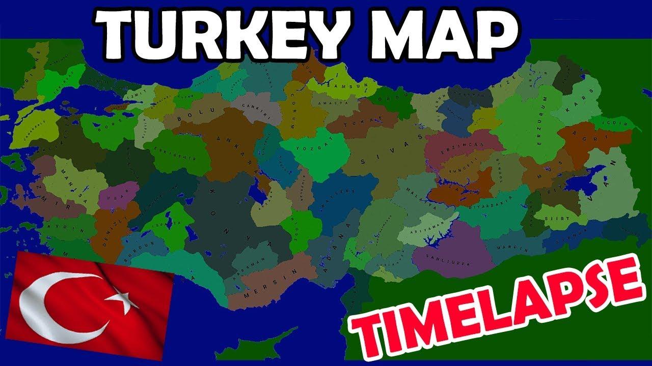 AOC2: Turkey Map Timelapse DOWNLOAD!