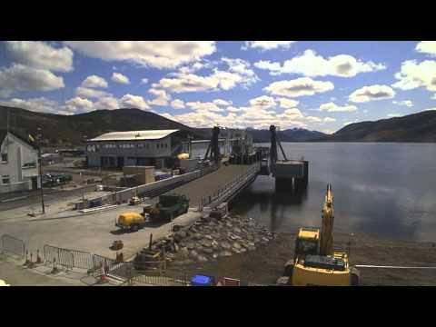 RJ McLeod Ullapool Harbour Linkspan Timelapse April 2015