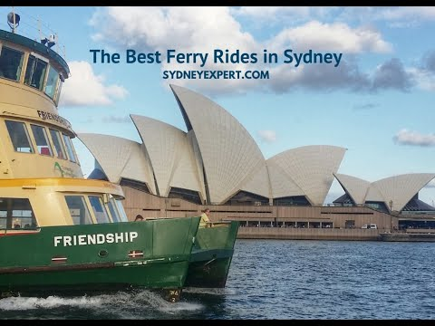 The Best Sydney Ferry Rides