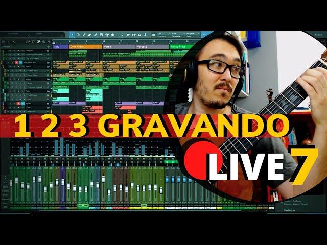 🔴 Compondo e Gravando uma Vinheta Ao Vivo | LIVE MB 07