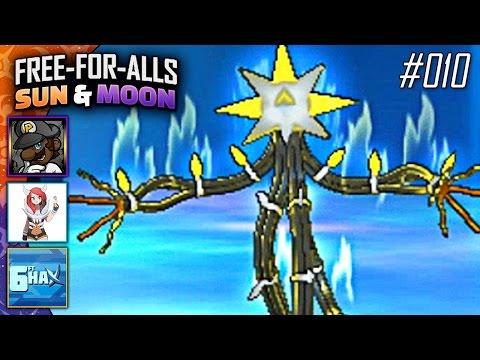 Pokémon Sun & Moon FFAs #010 Feat. PKSparkxx, CuddleofDeath & 6fthax!