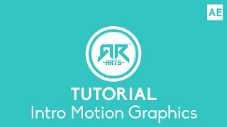 Intro Motion Graphics Tutorial - After Effects